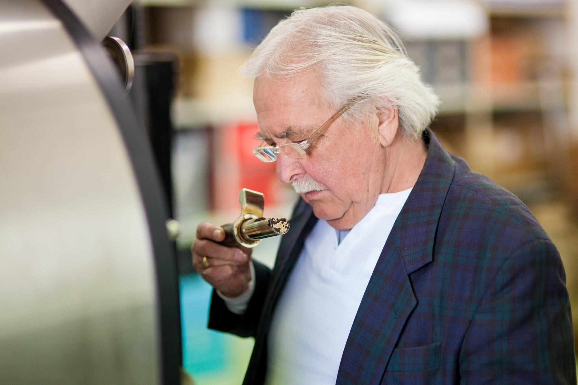 Röstmeister Franz Berger